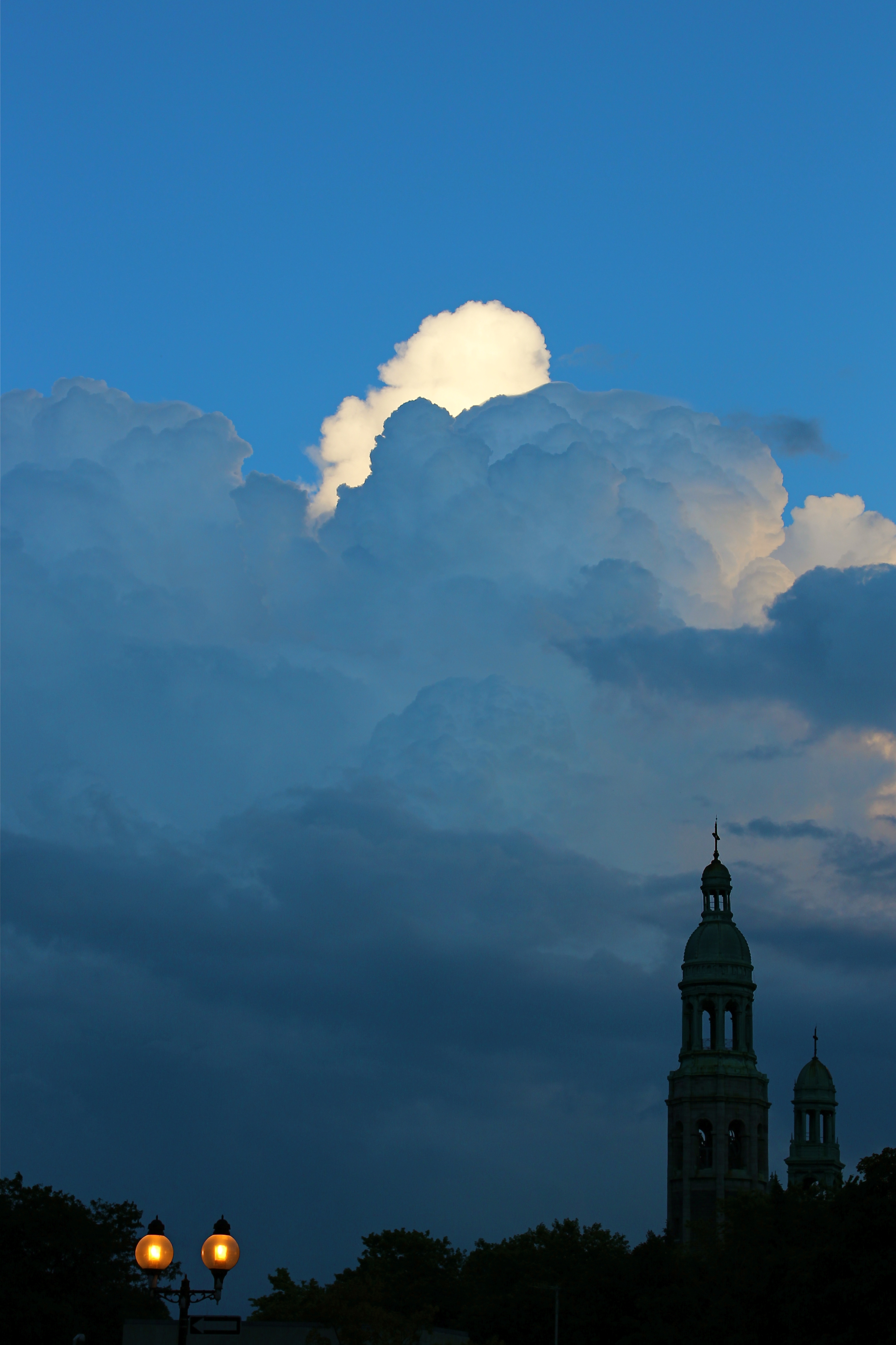 Clouds over Saint Henri - Summer 2013