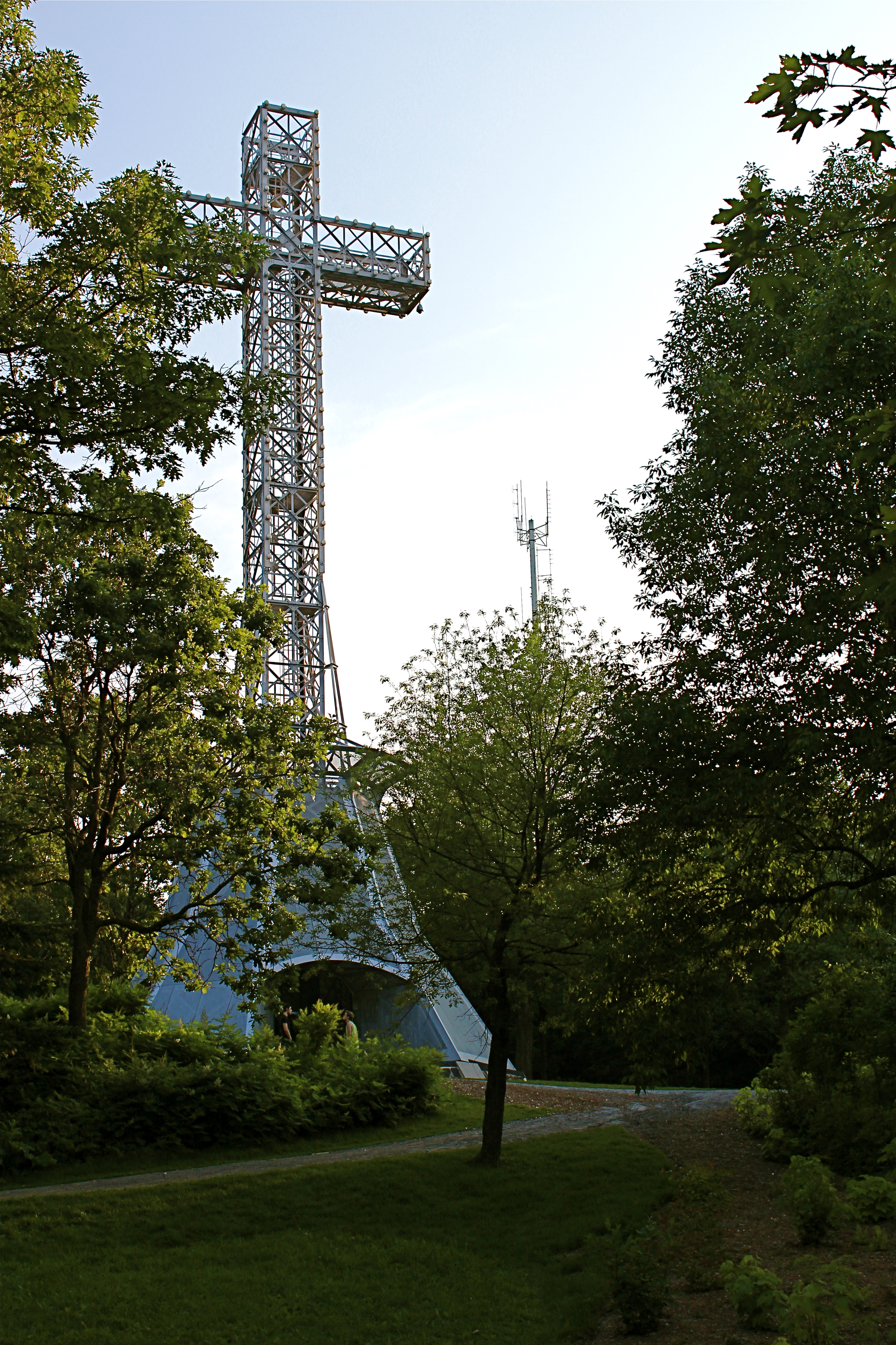 The Cross on Mount Royal