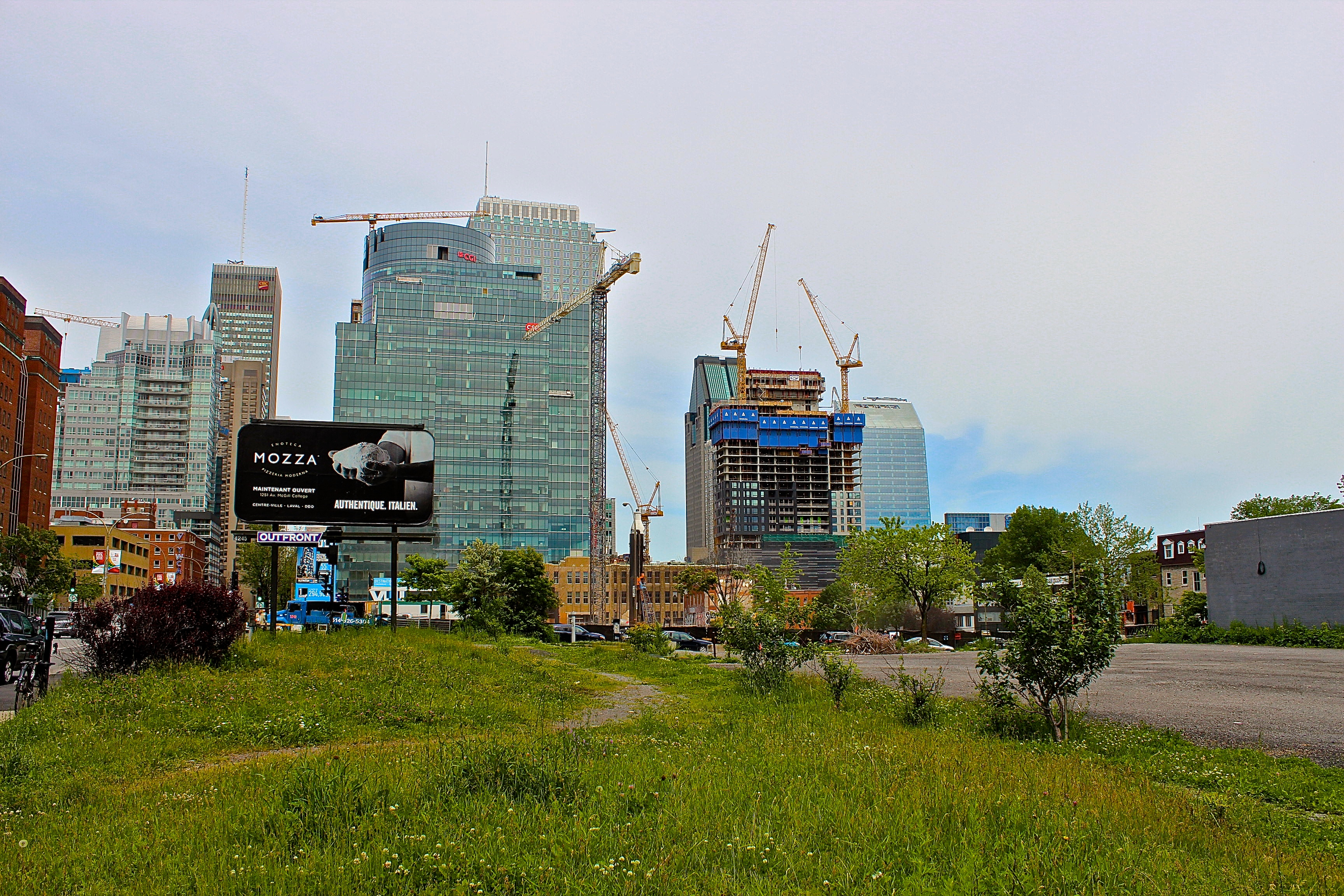 The latest additions to Montreal's skyline taking shape - June 17th 2015