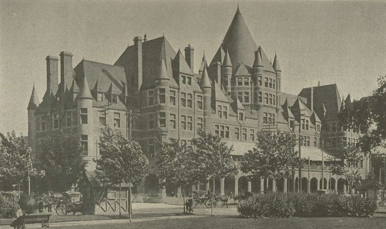 Place Viger as it appeared in 1900