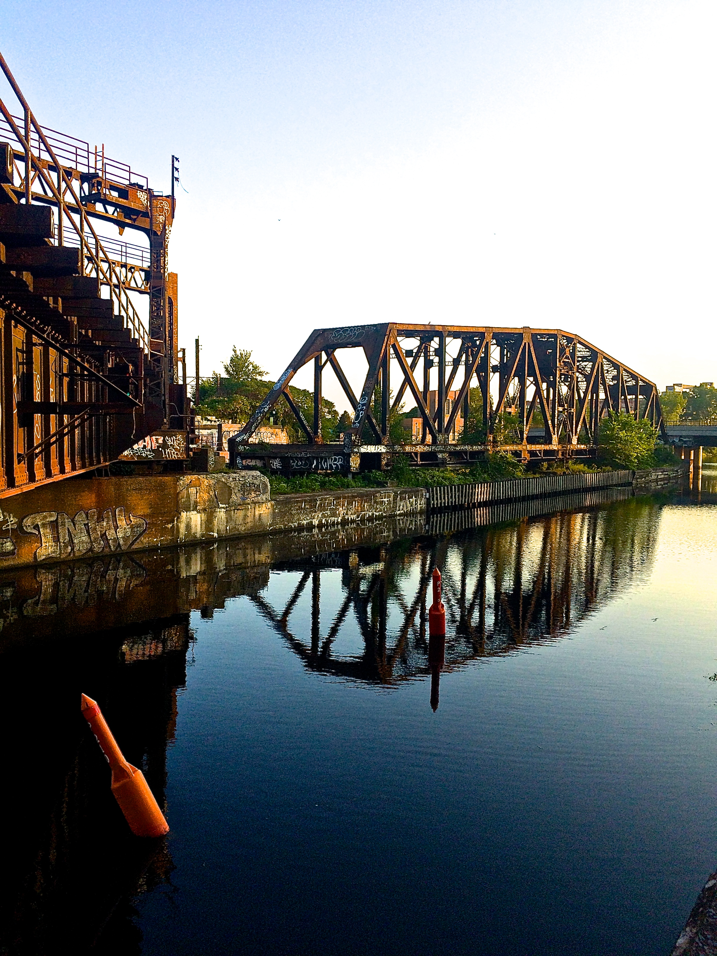 Fixed Position - Lachine Canal