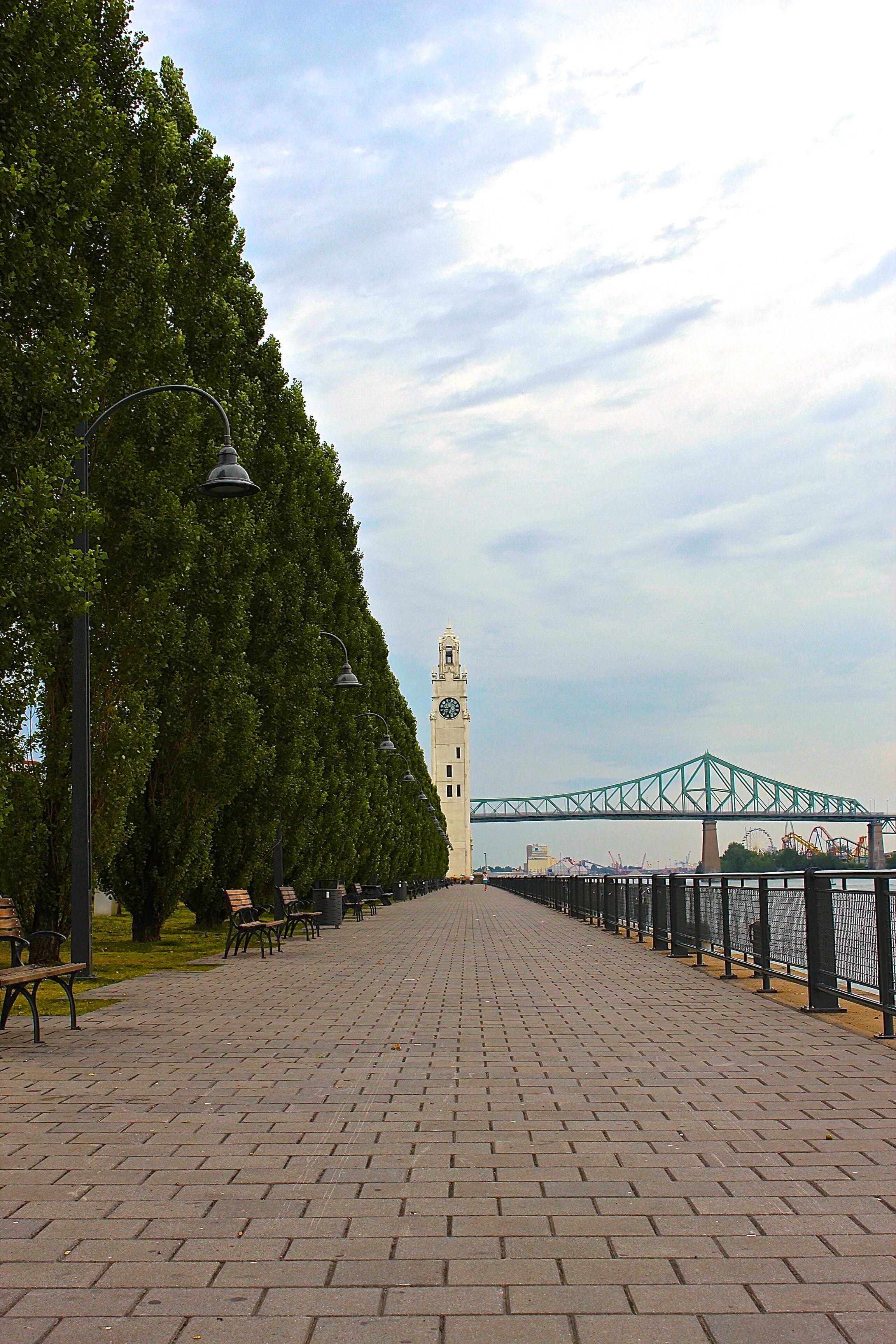 Harbourfront, Clock Tower & Bridge (empty space)