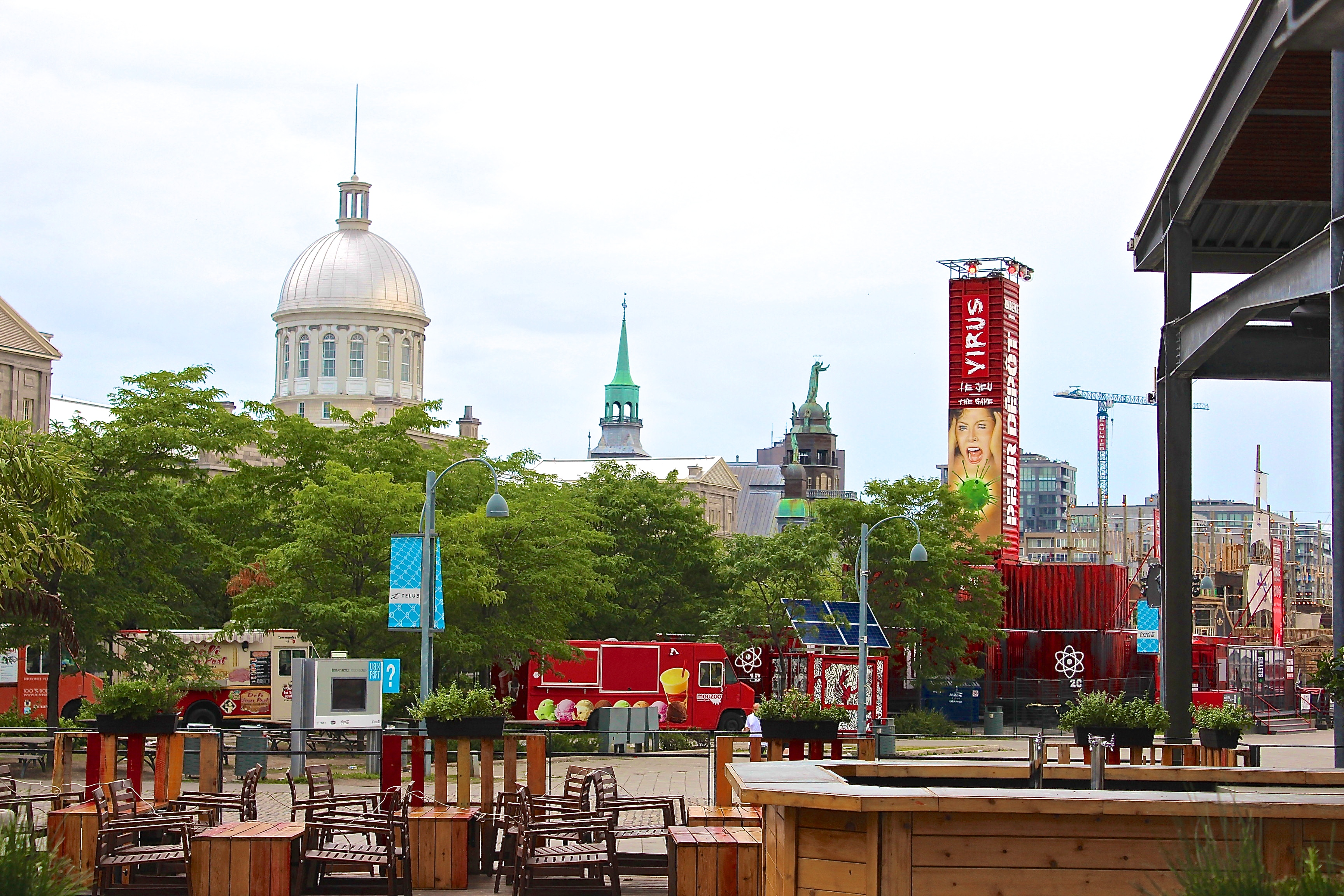 Attractions, Old & New - Montreal, Summer 2015